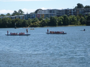 Dragon Boat Practices