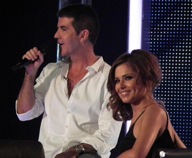 The judges of X Factor UK