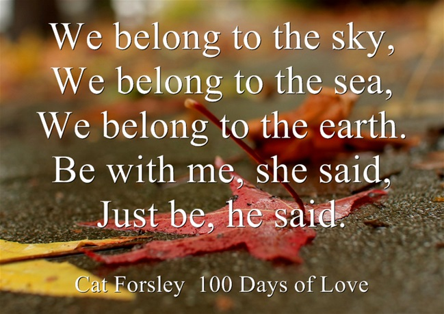 Interview With Cat Forsley Author Of 100 Days Of Love Poetic Parfait