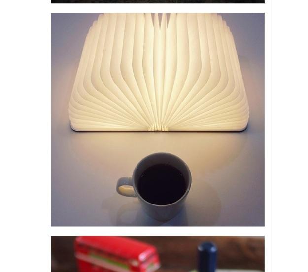 Light looks like book