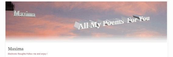 Maxima brings romantic poetry