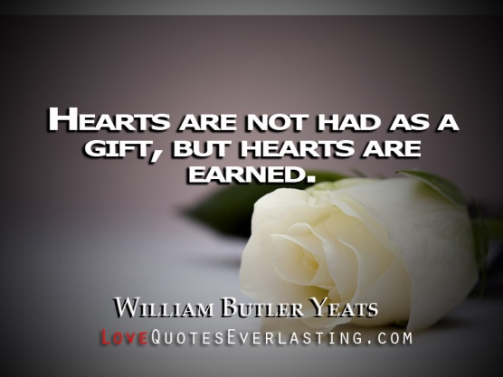 Yeats gives a poetry quote at Easter