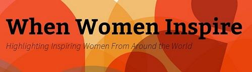 When Women Inspire Logo