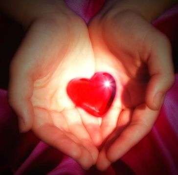 Give with your heart