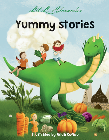 Yummy Stories Children's Book Cover