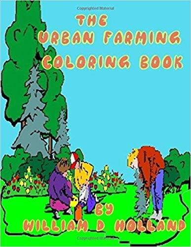 William D. Holland's Coloring Book Launches